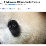 5 Myths About China and the Environment – National Geographic News Watch
