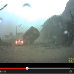 Incredible Mudslide Caught on Camera in Taiwan