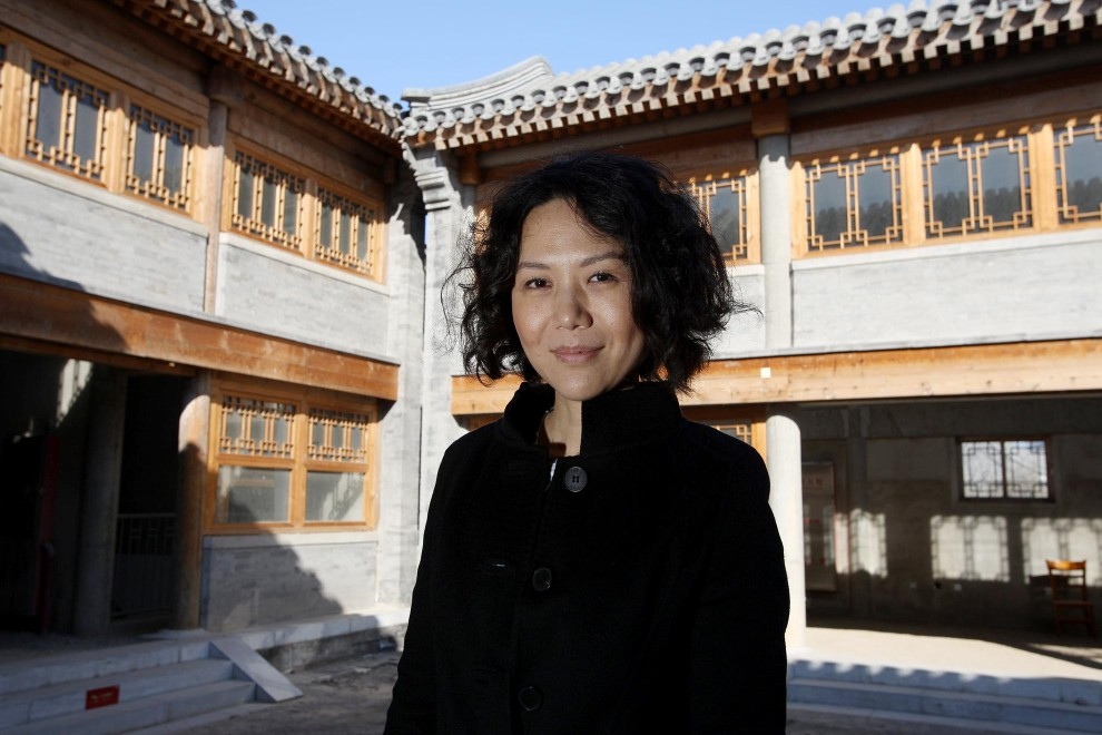 Chinese movie director, Vivian Qu for the Hollywood Reporter