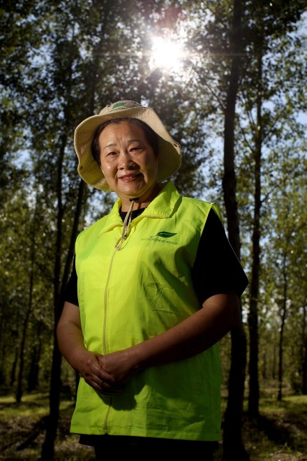 Yi Jiefang, founder of the Greenlife NGO - for TIME Magazine