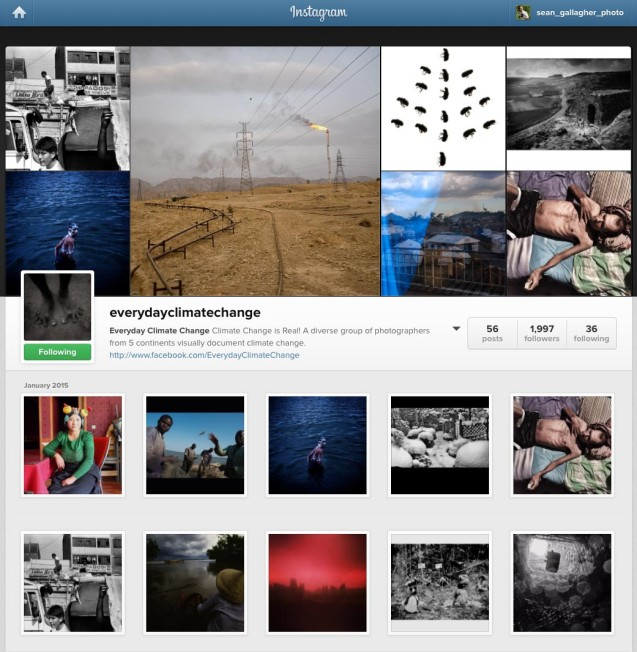 Everday Climate Change - Instagram