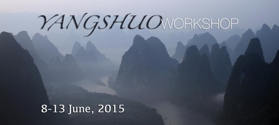 New Workshop Announced in Yangshuo, China – June, 2015