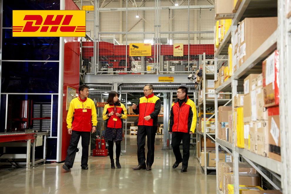 DHL in China