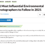 21 Most Influential Environmental Photographers to Follow in 2021 – Expert Photography